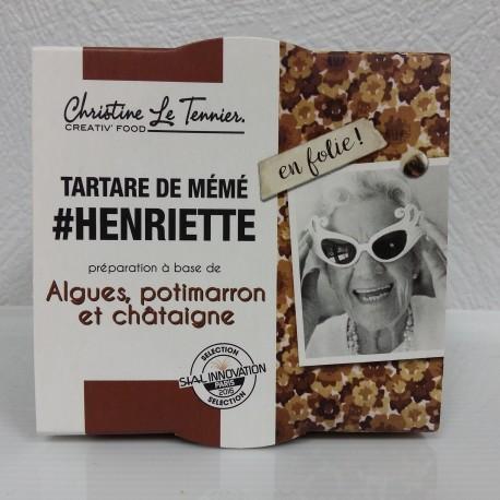 Tartare d'algues- Henriette