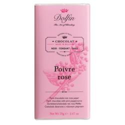 Chocolat noir- Poivre rose-Le Flot des Saveurs