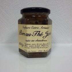 Confiture-Poire au thé noir -Jasmin-325g-La Flot des Saveurs
