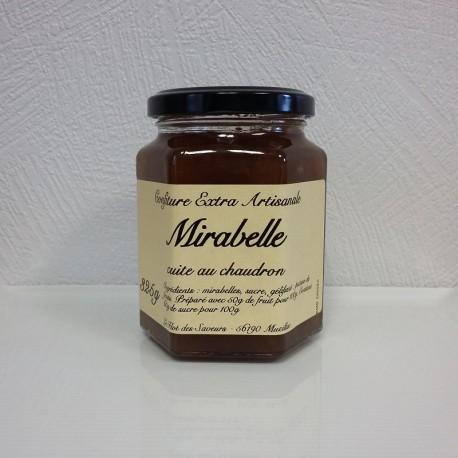 Confiture à la Mirabelle-325g-Le Flot des Saveurs