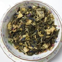 Thé vert-Petite Mandarine-Le Flot des Saveurs