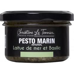 Pesto marin laitue de mer & Basilic
