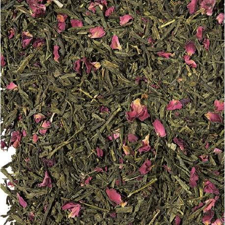 Thé vert-Fleur de cerisier-le flot des saveurs-Muzillac