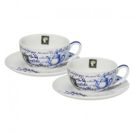 Duo de tasses -maison du thé